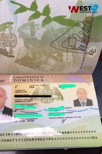 پاسپورت_دومینیکا