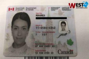 کارت_اقامت_کانادا