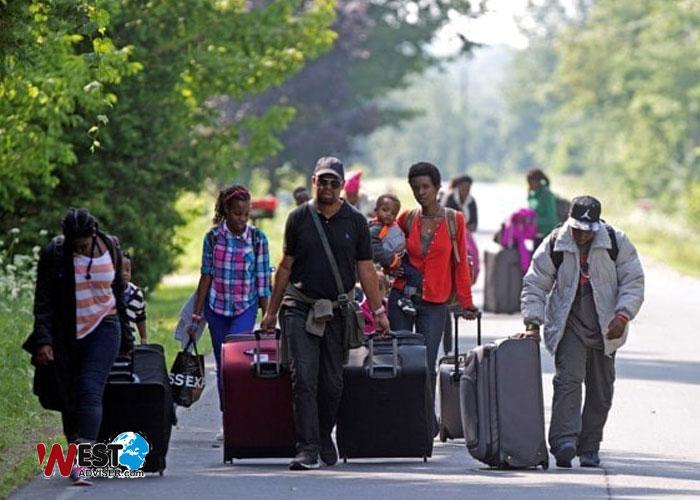 اطلاعاتی در خصوص مهاجرت از طریق پناهندگی